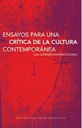 Papel Ensayos Para Una Crítica De La Cultura Contemporánea