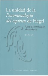 Papel LA UNIDAD DE LA FENOMENOLOGIA DEL ESPIRITU D