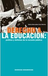 Papel DERECHO A LA EDUCACION POLITICA Y DEFENSA DE
