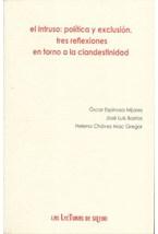 Papel EL INTRUSO POLITICA Y EXCLUSION TRES REFLEXI