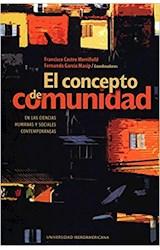 Papel EL CONCEPTO DE COMUNIDAD