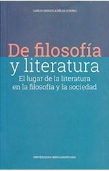Papel DE FILOSOFIA Y LITERATURA