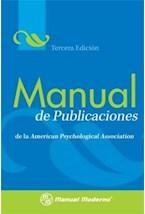 Papel MANUAL DE PUBLICACIONES (TERCERA EDICION)
