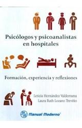 Papel PSICOLOGOS Y PSICOANALISTAS EN HOSPITALES