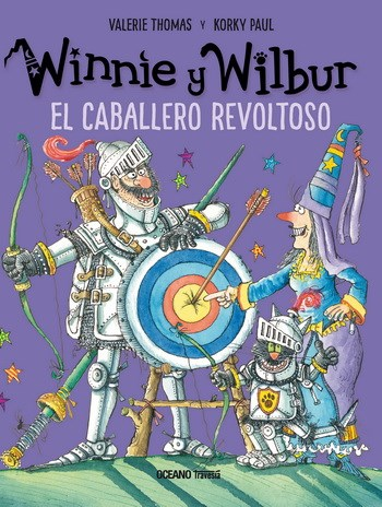 Papel El Caballero Revoltoso. Winnie Y Wilbur