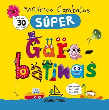 Papel Monstruo Garabatos Súper Garabatinas