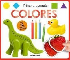 Papel Primero Aprendo Colores