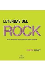 Papel LEYENDAS DEL ROCK ARTISTAS INSTRUMENTOS MITOS E HISTORI AS DE 50 AÑOS (CARTONE)