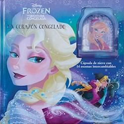 Papel Libro Con Capsula Frozen