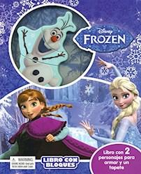 Papel Libro De Bloques Frozen