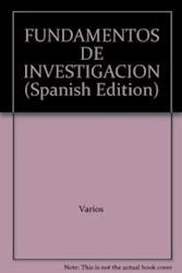 Libro Fundamentos De Investigacion