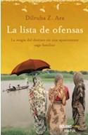 Papel LISTA DE OFENSAS LA MAGIA DEL DESTINO EN UNA APASIONANTE SAGA FAMILIAR (SERIE EXPRES)