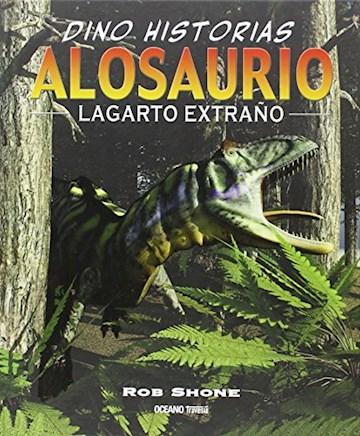 Papel Dino Historias: Alosaurio