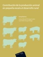 Libro Contribucion De La Produccion Animal En Pequeña Escala Al Desarrollo Rural