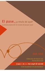Papel PASE, EL (A TITULO DE QUE?)