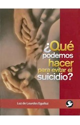 Papel QUE PODEMOS HACER PARA EVITAR EL SUICIDIO?