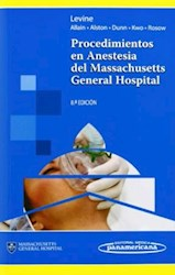 Papel Procedimientos En Anestesia Del Massachusetts General Hospital Ed.8