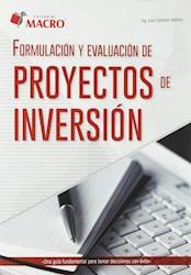 Libro Formulacion Y Evaluacion De Proyectos De Inversion