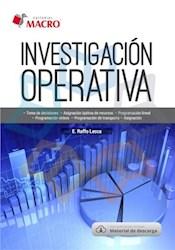 Libro Investigacion De Operativa