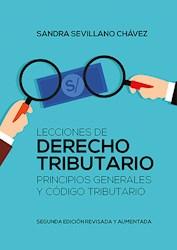 Libro Lecciones De Derecho Tributario: Principios Genera