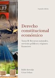 Libro Derecho Constitucional Economico. Tomo Ii: Recurs