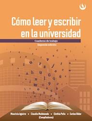 Libro Como Leer Y Escribir En La Universidad. Cuaderno
