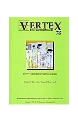 Papel VERTEX N§76 (INSTITUCIONES EN PSICOGERIATRIA)