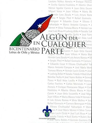 Papel Algún Día En Cualquier Parte. Encuentro Literario Chile-México