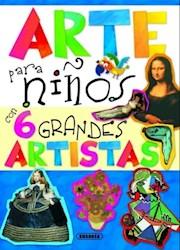 Libro Arte Para Nios Con 6 Grandes Artistas