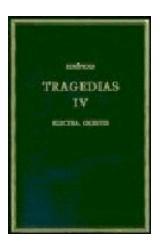 Papel TRAGEDIAS VOL IV ELECTRA ORESTES