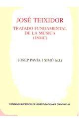 Papel Tratado fundamental de la música (1840)