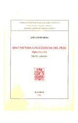 Papel Documentos lingüísticos del Perú
