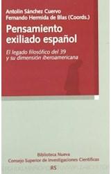 Papel PENSAMIENTO EXILIADO ESPAEOL: EL LEGADO FILO