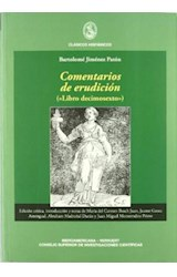 Papel COMENTARIOS DE ERUDICION : LIBRO DECIMOSEXTO