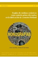 E-book Empleo de resíduos cerámicos como materia prima alternativa en la fabricación de cemento Pórtland