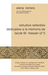 """E-book Estudios sefardíes dedicados a la memoria de Iacob M. Hassán (Z""""L)"""