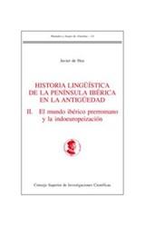 E-book Historia lingüística de la Península Ibérica en la antigüedad. II. El mundo ibérico prerromano y la indoeuropeización