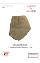 E-book Sidereum Ana II: el río Guadiana en el Bronce Final