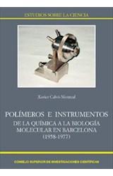 E-book Polímeros e instrumentos: de la química a la biología molecular en Barcelona (1958-1977)