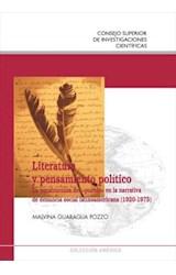 E-book Literatura y pensamiento político: la construcción del «pueblo» en la narrativa de denuncia social latinoamericana (1920-1975)