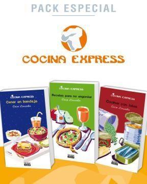 E-book Pack Especial: Cenar En Bandeja / Recetas Para No Engordar / Cocinar Con Latas (Cocina Express)