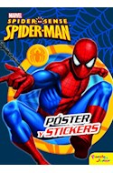 Papel SPIDERMAN SPIDER SENSE (POSTER Y STICKERS)