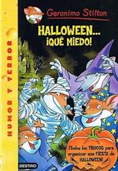 Papel G Stilton 25 - Halloween Que Miedo