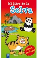 Papel MI LIBRO DE LA SELVA (JUEGA Y APRENDE) (CARTONE)