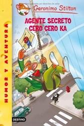Papel G Stilton 43 Agente Secreto Cero Cero Ka