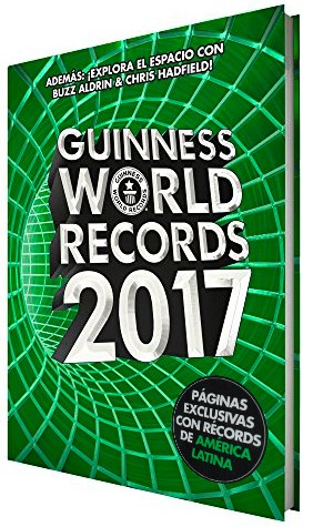 Papel Guinness World Records 2017. Ed. Latinoamérica