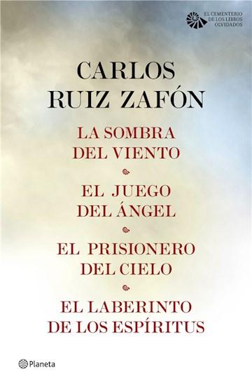 E-book Tetralogía El Cementerio De Los Libros Olvidados (Pack)