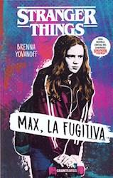 Libro Max , La Fugitiva  Stranger Things