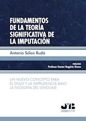 Libro Fundamentos De La Teoria Significativa De La Impu