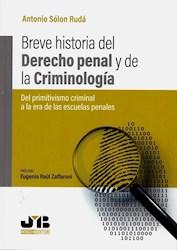 Libro Breve Historia Del Derecho Penal Y De La Criminolo